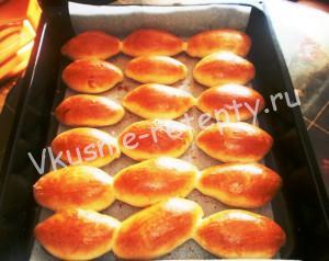 пирожки с капустой и мясом фото