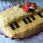 салат Белый рояль фото