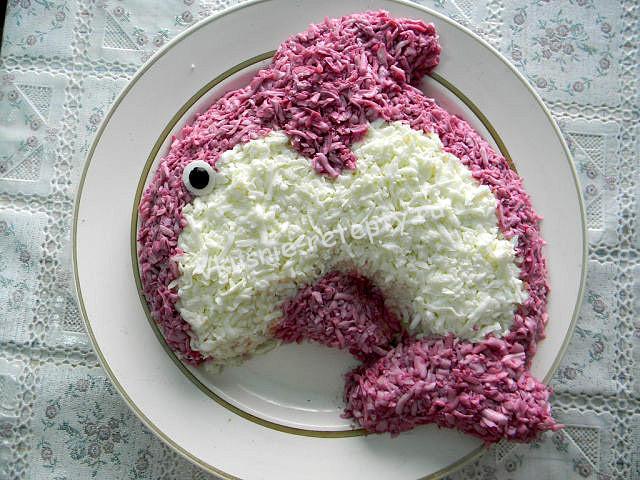 салат для детей фото