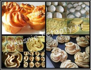 сдобные булочки рецепт с фото