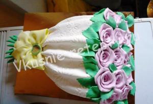 торт Букет цветов мастер класс