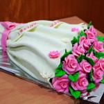 торт Букет цветов фото