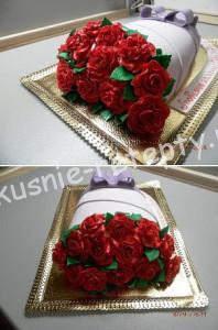 торт Букет цветов мастер