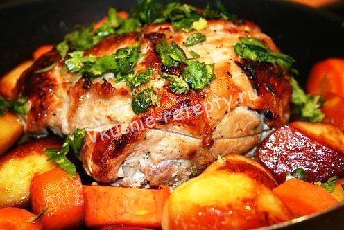 запеченная свинина рецепт с фото