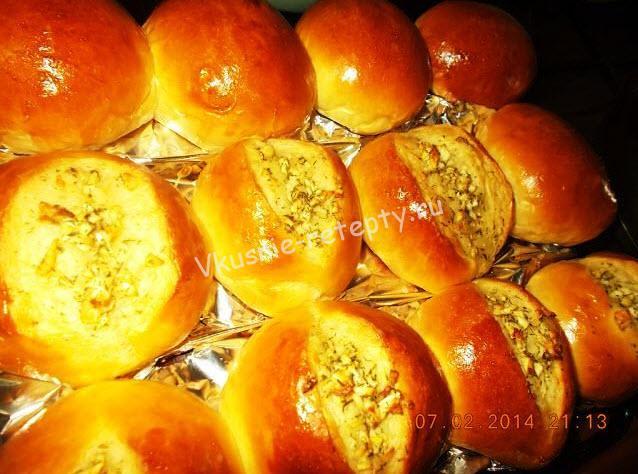 чесночные булочки рецепт с фото
