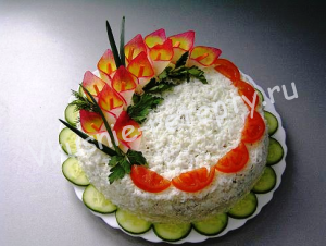 куриный торт фото