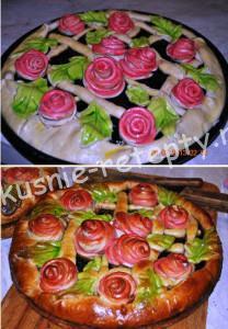 Красивый пирог рецепт фото