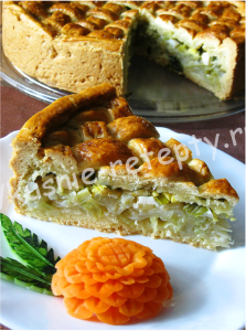пирог с капустой рецепт с фото