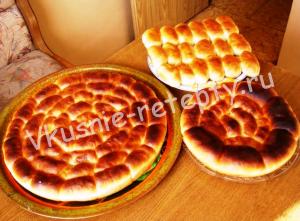 постные пироги рецепт