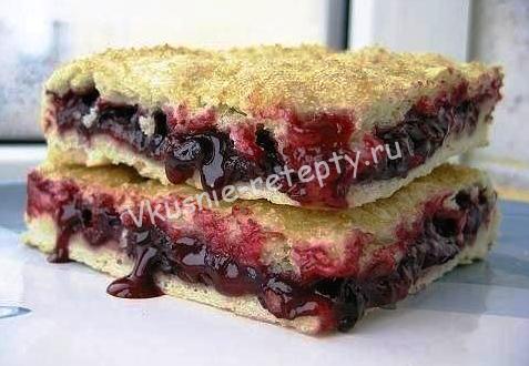 постный пирог фото