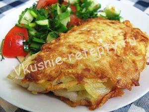 рыба в картофельной корочке фото