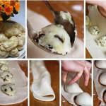 вареники с картошкой и грибами фото