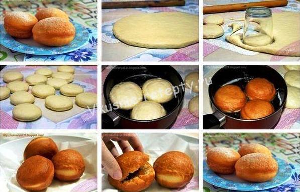 вкусные пончики фото