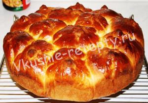 Дрожжевой пирог рецепт с фото