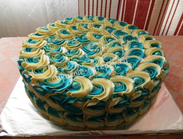 кокосовый торт фото
