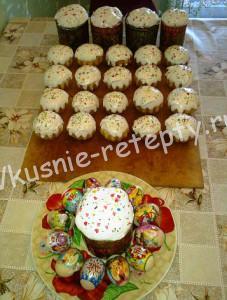 пасхальные куличи рецепт с фото