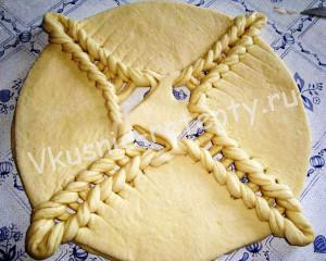 пирог из сладкое теста рецепт с фото