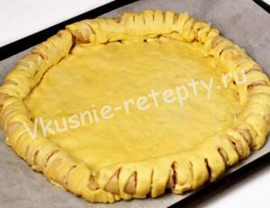 плетеный пирог рецепт с фото