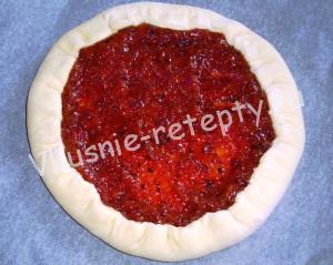 сладкий пирог из дрожжевого теста фото