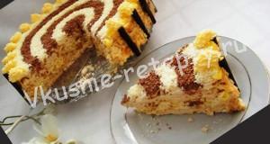 торт безе с миндалем фото