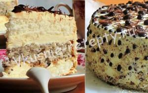 торт с ореховым безе фото