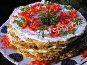 кабачковый торт рецепт с фото