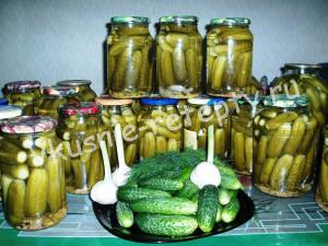 огурцы на зиму рецепт с фото