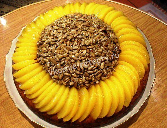 пирог Подсолнух рецепт фото