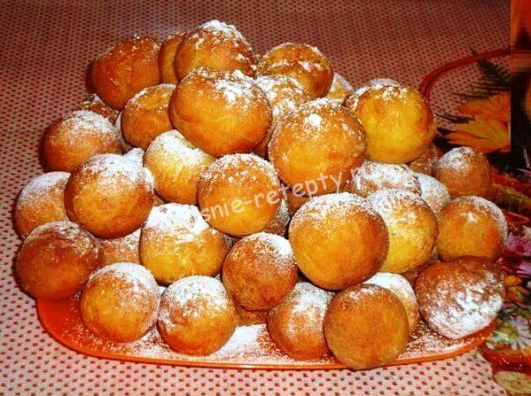 Рецепт пончиков шариков из творога