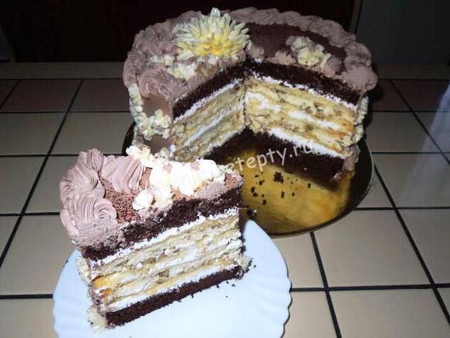 Рецепт торт крещатый яр