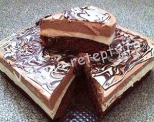 торт с суфле рецепт с фото