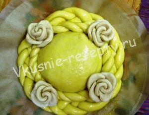 украшение пирога рецепт с фото