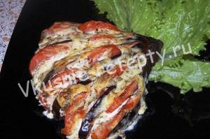 закуска из баклажан рецепт с фото