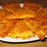 сырные лепешки рецепт с фото