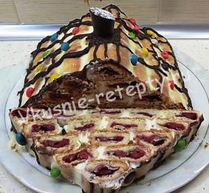 Торт Монастырская изба рецепт