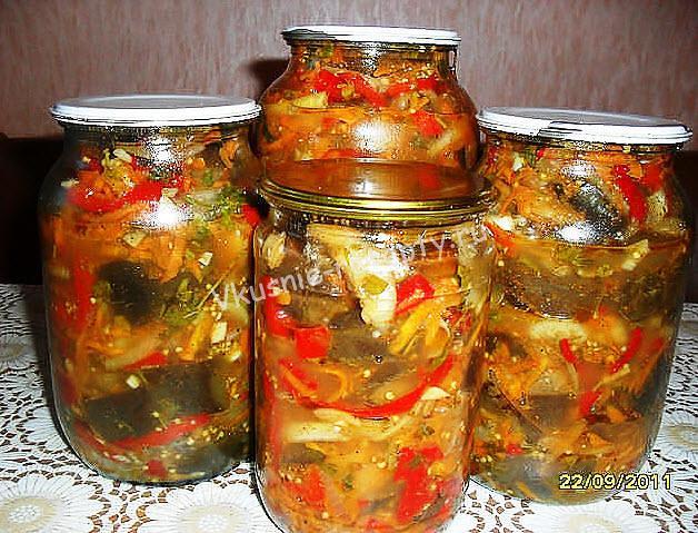 Рецепт баклажаны по-корейски рецепт с фото