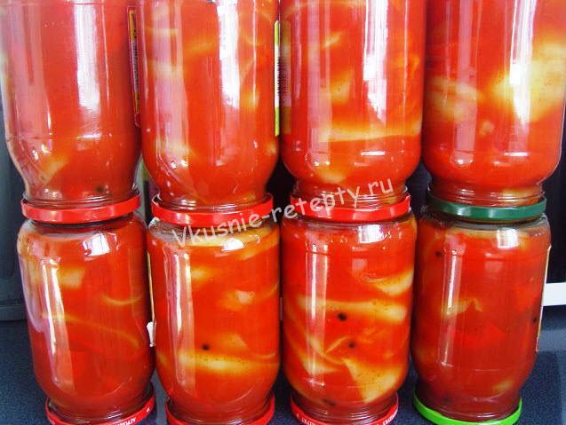 Сок из болгарского перца на зиму в домашних условиях