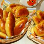 Пирожки печеные фото