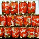 помидоры в желе на зиму рецепт с фото