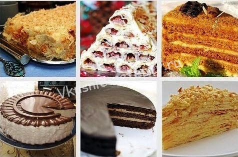 популярные торты фото