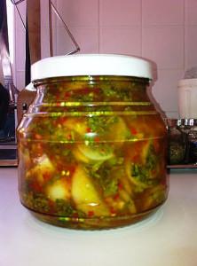 Закуска из зеленых помидоров рецепт фото
