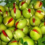 зеленые консервированные помидоры фото