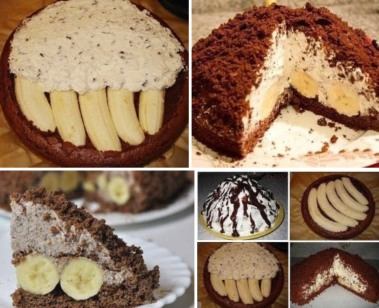 Интересный тортик «НОРКА КРОТА»