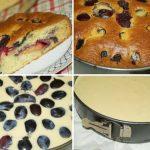 Рецепт творожного пирога со сливами, РАДИ КОТОРОГО Я ЖДУ ПРАЗДНИКА. ЯЗЫК МОЖНО ПРОГЛОТИТЬ!