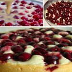 Десерт, который заслуживает высших похвал: быстрый пирог с вишней на кефире.