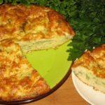 Греческий пирог с кабачками - лучший рецепт этого лета