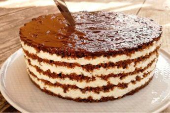 Обалденный торт без выпечки «Тающая Загадка»
