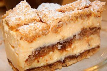 Орехово-лимонный тортик без единого грамма муки! Вкус потрясающий!