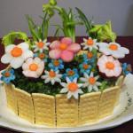 салат Цветочная поляна фото