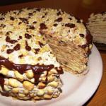 торт Наполеон на сковородке фото